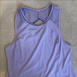 Lululemon purple top size 10